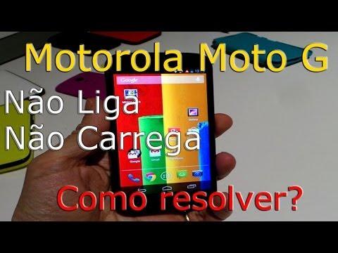Motorola Moto G não liga. não carrega. Como resolver? DroidSkill