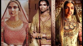 Deepika Padukone Hot Padmavati Pics Leaked