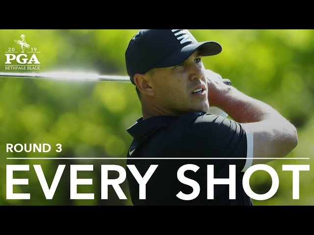 Brooks Koepka Every shot from his 3rd-round 70 at the 2019 PGA Championship