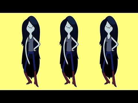 Видео как нарисовать Марселин из Время приключений