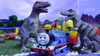 Thomas And Friends Play Doh Surprise Eggs  jurassic world Dinosaur Toys Kids Video