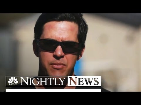 Retired Navy SEAL Flying High Again To Raise $1M For Charity | NBC Nightly News