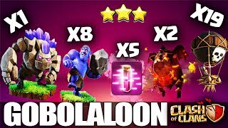 How to GoBoLaLoon - TH10 Attack Strategy for 3 Stars | Th10 GoBoLaLo | Clash of Clans