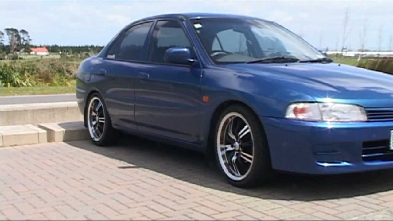 GLXI Mitsubishi Lancer - YouTube