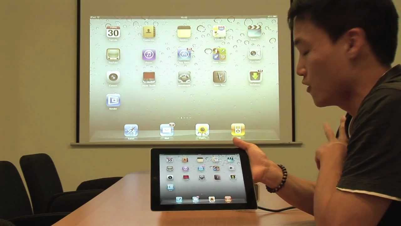 Wireless projection of your ipad desktop youtube for Ipad pro projector