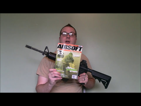 Ares Gen 3 M4 AEG with Electronic Gearbox Programmer Overview for Airsoft Insider Magazine