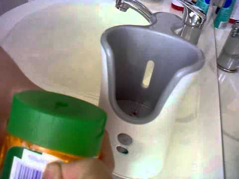 DETTOL No-Touch Hand Wash System - first use