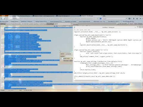 How to edit Wordpress plugin files