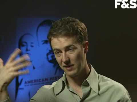 Edward Norton-American History X interview