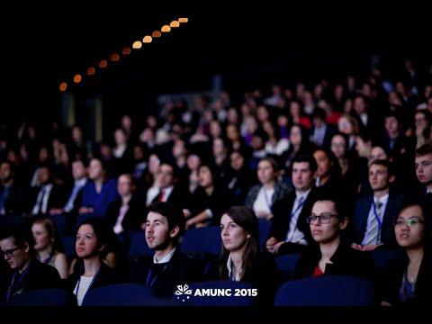AMUNC 2015 - Awards Ceremony