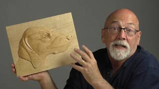 How To Carve  a Portrait of Your Dog