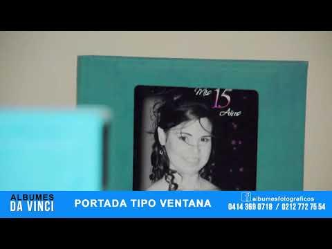 Albumes Da Vinci - PORTADA TIPO VENTANA