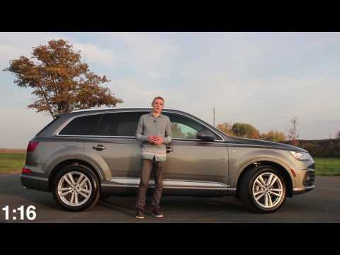 2017 Audi Q7 90 Second Car Reviews