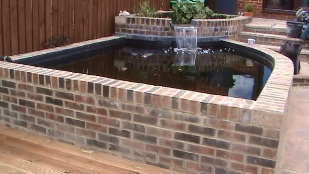 How to build a koi pond video part 1 by pondguru youtube for Concrete koi pond construction