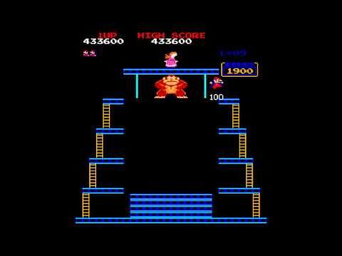 MAME World Record: Donkey Kong [US Set 1] 1,153,000