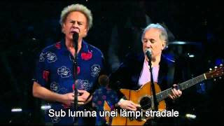 Simon and Garfunkel  - The sound of silence (tradus in romana)