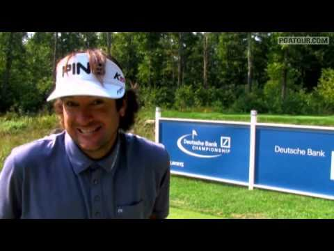 Bubba Watson Works Hard, Has Fun
