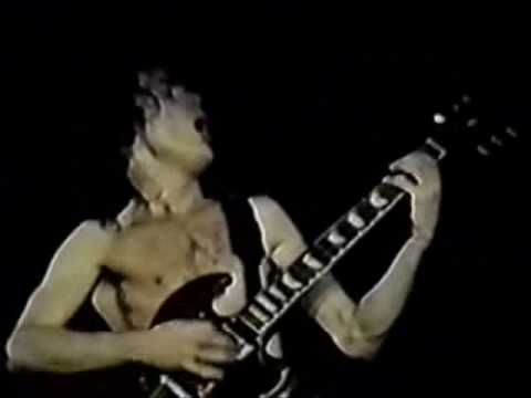 Angus young Guitar Solo 1981