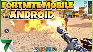 FORTNITE MOBILE ANDROID CLONE! NEW GAME FIRST GAME!! | CREATIVE DESTRUCTION