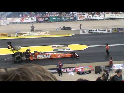 2011 nhra summit racing equipment nationals (Norwalk Oh) top fuel 1st rnd part 1