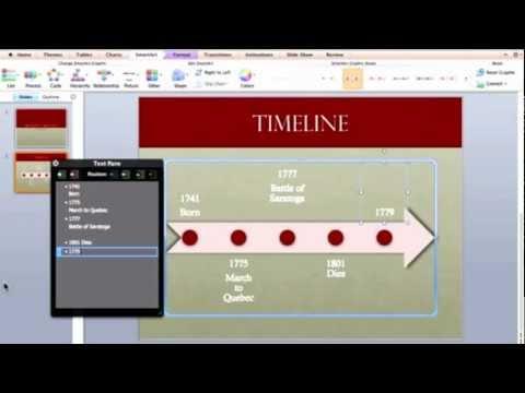 Timeline  How to Create a Timeline