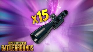 Insane x15 Scope Triple Kill..!! | Best PUBG Moments and Funny Highlights - Ep.45