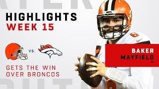 Baker Mayfield Leads Huge Victory Over Broncos!