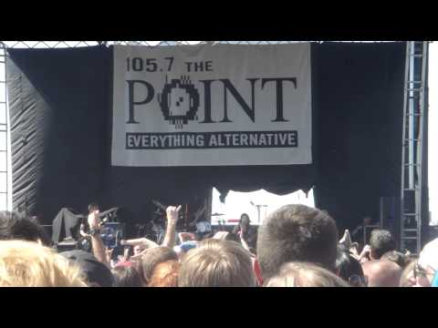 Sick Puppies - There's No Going Back (NEW SONG 2013 FIRST FULL LIVE VIDEO) - Pointfest 31
