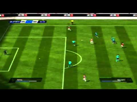 Arsenal vs Barcelona FIFA 11