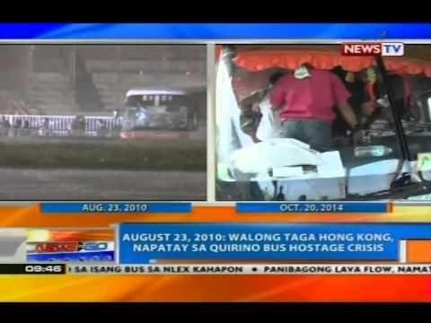 NTG: Aug. 23, 2010: 8 taga Hong Kong, napatay sa Quirino bus hostage crisis