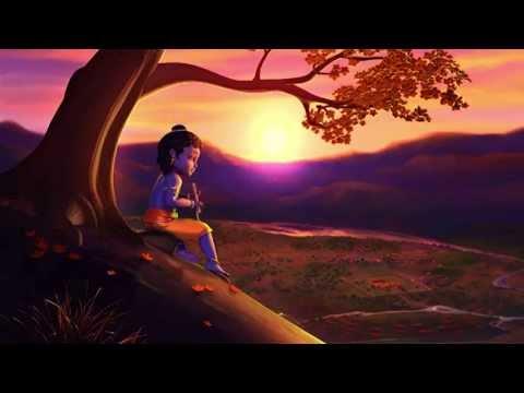 Krishna Flute Cartoon Kiran Flute Little Krishna
