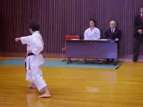 Japan Karate Association (Gifu-honbu) :Promotion TEST for 3rd dan (KATA : Gojushiho Sho)
