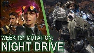 Starcraft II Co-Op Mutation #121: Night Drive
