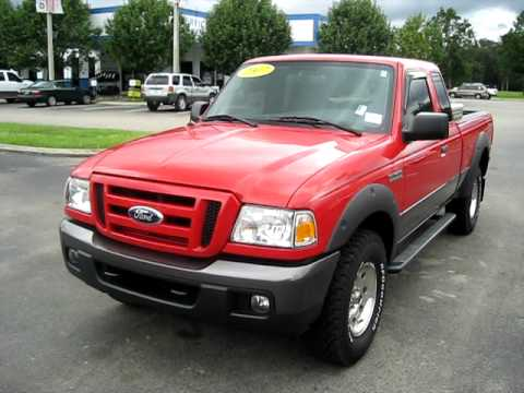 Used 2007 Ford Ranger 4x4 Supercab Fx4 Off Road In