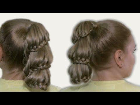 Уроки Прически - косички - видео