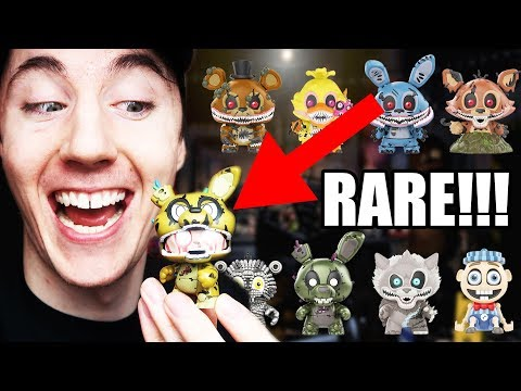 FNAF THE TWISTED ONES MYSTERY MINIS! (I GOT A RARE!)
