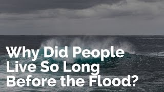 Download Song Why Did People Live So Long Before the Flood? Free StafaMp3