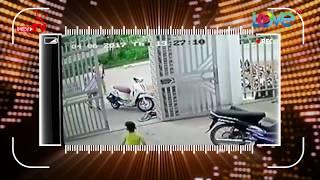 Cậu bé 3 tuổi gây chấn động khi ngăn cản tên trộm xe máy ngay sân nhà