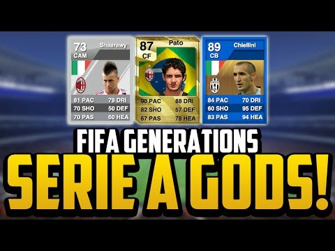 FIFA Generations   INSANE SERIE A PLAYERS! w/ SILVER EL SHAARAWY!