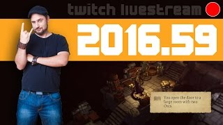 Livestream 2016 #59 - Scrap Garden, Blameless, Warlock of Firetop Mountain