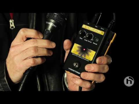 TC-Helicon Vocal Stompboxes - Features