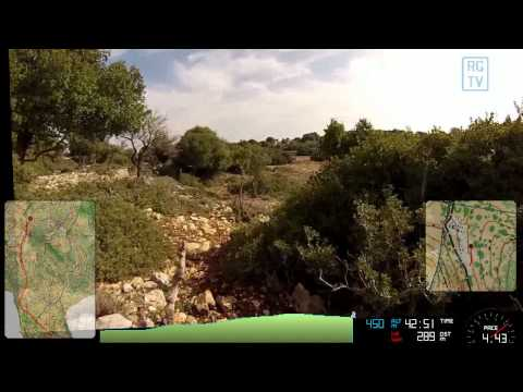 Israel Orienteering National Race Long Course 4 JAN 2014