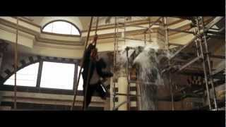 Quantum Of Solace roof chase