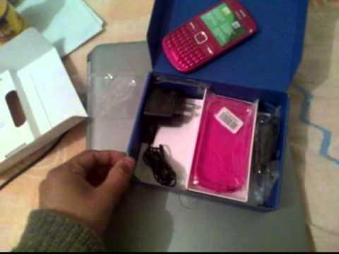 Nokia C3 Rosa Telcel Unboxing