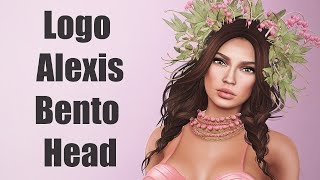 Logo Alexis Bento Mesh Head in Second Life