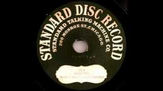 maurice burkhart  at the devils ball  standard disc 78 1913