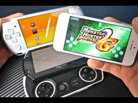 The First PSP Emulator on iPhone. iPod Touch & iPad - PPSSPP Playstation Portable on iOS 6