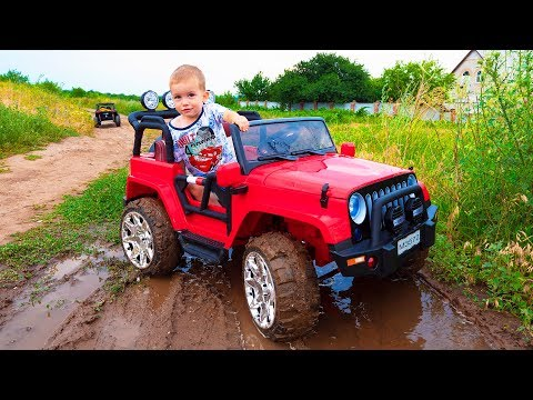 Arthur and adventure / Kids pretend play car toys / Video for kids, children by MelliArt