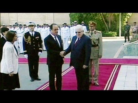 Hollande in Iraq, sostegno al governo nella lotta contro lo Stato islamico