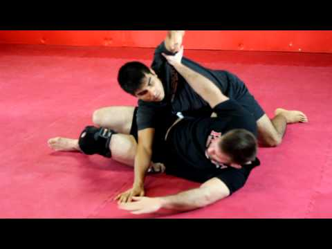 Side Mount Escape - The Heisman Learn to Grapple Image 1